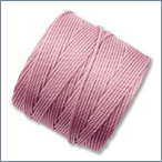 bonded nylon cord used for finger woven treasure bracelets, necklaces, tassels and straps