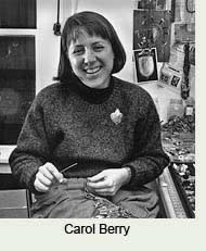 Carol Berry, bead sister, artist, friend and mentor to Robin Atkins, bead artist